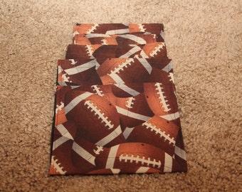 Party Favors-Reusable Sandwich Bags-Football
