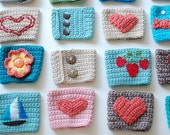 Coffee Cozy, Crochet Coffee Sleeve, Reusable Coffee Cup Cozy, Cup Sleeve Custom! Design your own.
