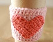 Heart Coffee Cup Sleeve