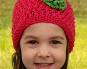 Baby/Toddler Flower Hat Knit Pattern PDF.
