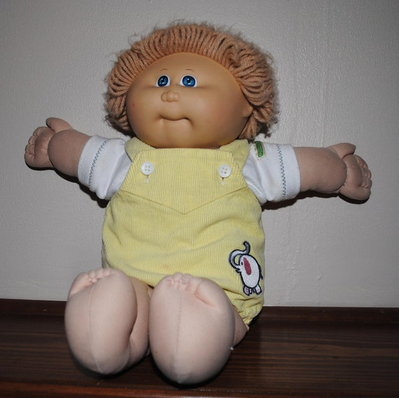 Original cabbage patch doll value
