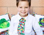 The Very Hungry Caterpillar- Little Guy Neck Tie...............The Princess in Pigtails Designs