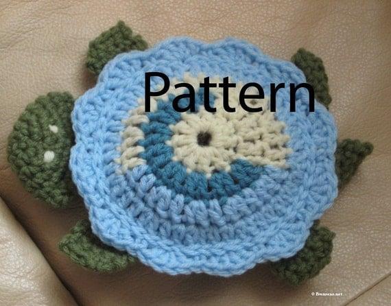 Crochet Pattern - Toy Turtle - Item 18009