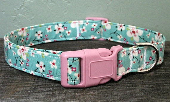 Farmdale Blossom Floral Dog Collar