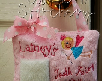 Tooth Fairy Pillow For Girls or Boys Great Gift Idea