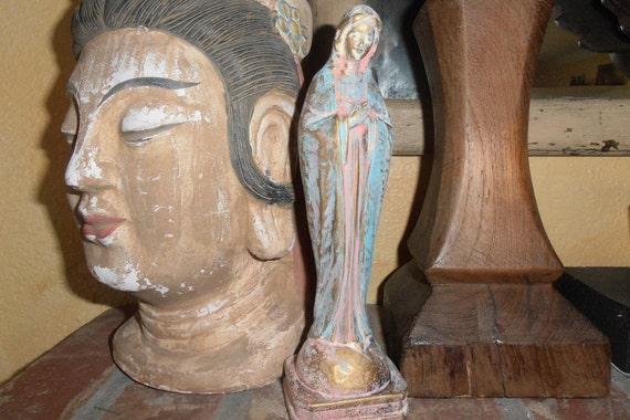 Virgin Mary Statue, Madonna Figurine, Mother Mary, Catholic Figure