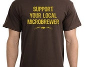 Support Your Local Microbrewer tee shirt