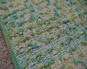 Handwoven Cotton Shaggy Looper Rug (1127)