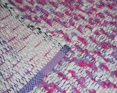 Handwoven Cotton Shaggy Looper Rug (1125A)