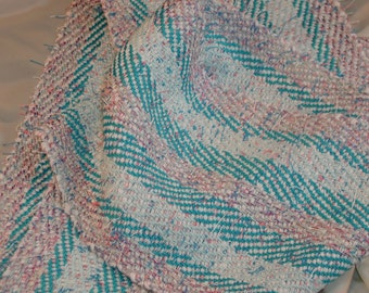 Handwoven Scarf in Bamboo and Cotton (834)