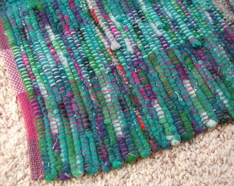 Handwoven Selvage Rug (1126A)