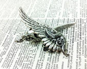 Ear Cuff Valkyrie Silver Wing