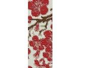 Sayuri Collection Cherry Blossom PEYOTE PATTERN