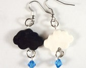 The Fault in our Stars: Cloud Earrings