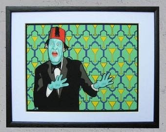 """Tommy Cooper  Giclee Print 11"""" by 14"""" Unframed"""