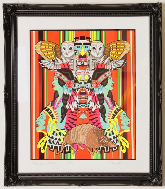 Cherokee Nation Limited Edition Giclee Print