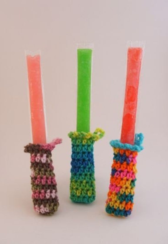 Freezer Pop Cozy PATTERN - SUPER SIMPLE for Beginners