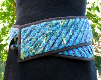Sea Anemone, Faux Chenille Belt