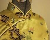 Cheongsam traditional Chinese dress qipao Mandarin dress  XL plus size