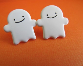 Halloween Ghost Stud Earrings