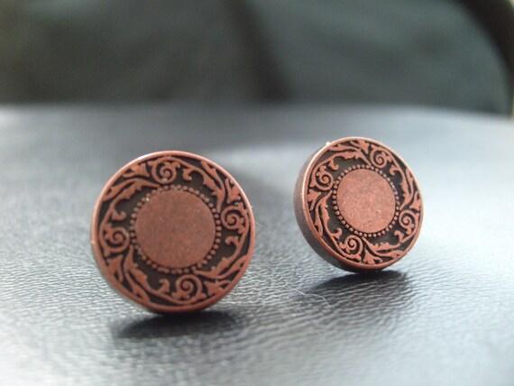 Rustic Design Earrings