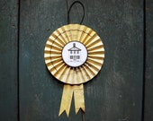 House Warming Gift - Paper Goods, Origami Rosette, Architectural Blue Prints, Award, Ornament or Medallion