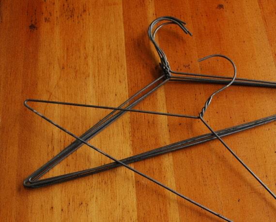 Mommie Dearest Steel Wire Hangers, Set of 25