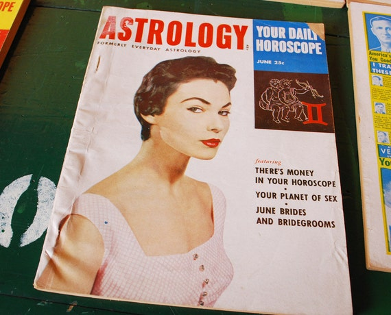 Astrology Magazine, June 1954 Issue, Gemini Cancer Horoscope