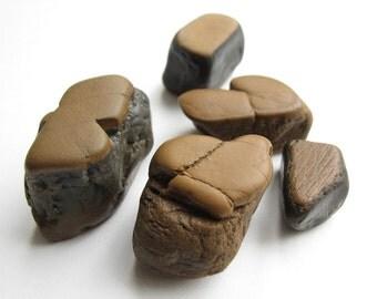 River Beach Rocks - Natural Stone Jewelry Supply