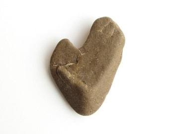 Heart Shaped Raw River Stone