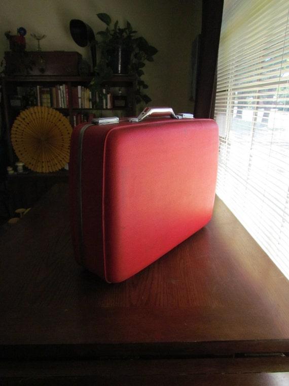 American Tourister  Red Tiara Suitcase