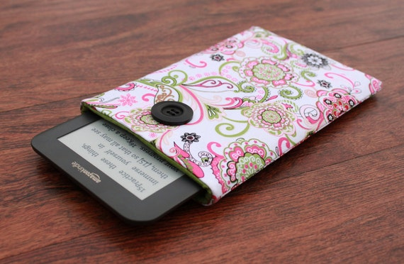 Kindle Fire Case, Kindle Keyboard Cover, Kindle Fire Cover, Kobo Vox Cover, Blackberry Playbook Cover, Kindle Fire -  Floral Fusion