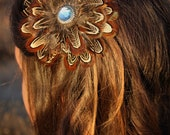 Custom Order for Calley - Pheasant Feather Hair Clip