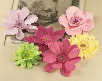 Dollhouse Collection Molly - Mulberry Paper Flowers 548223