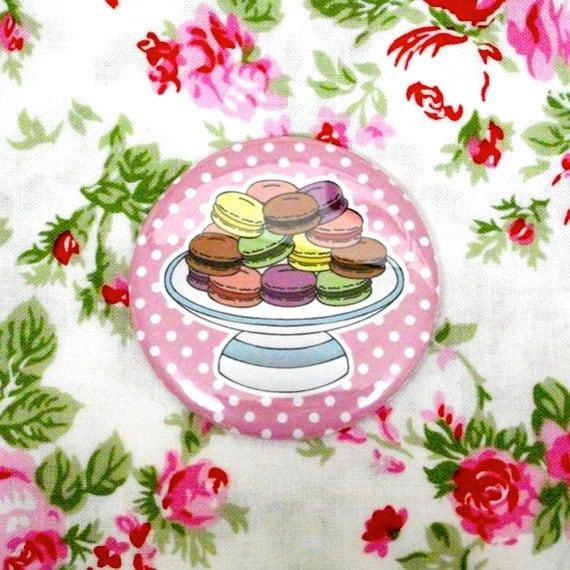 Macarons Pocket Mirror
