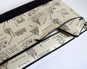 "A Walk in Paris 11, 13 inch Macbook Air Laptop cover With Pocket or Any Your Laptop or Notebook up 13"" sleeve cover"