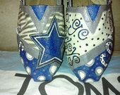Price includes shoes. Dallas Cowboys hand painted TOMS