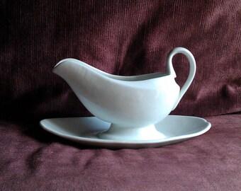 French antique white porcelaine saucer (sauciere)