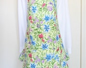 Country Style Full Apron with Lillies Sale Reg. 30.00 now 22.50