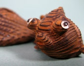 RESERVED for Maobligin -- Carved Wooden Koi Fish from Japan