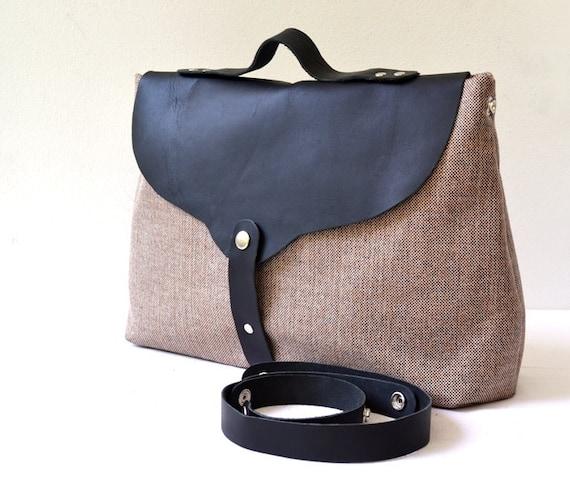 Custom Listing For Estrella - Leather and Canvas Handbag, Messenger, Purse, Shoulder Bag, Portfolio, Notebook, Laptop Bag, School Bag...