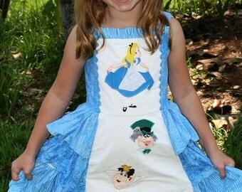 Boutique Alice in Wonderland Jumper Dress