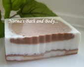 chocolate and cinnamon goats milk soap, soap, homemade soap, homemade soap, beauty soap, womens soap