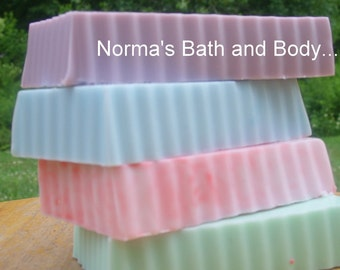 soaps. set of 4. handmade soap, glycerin soap, fruity soap, bath and beauty, bath and body, goats milk soap, health and beauty