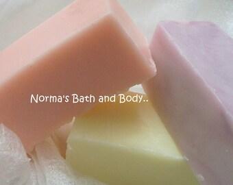 soap samples. set of 3