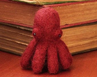 Needle felted octopus