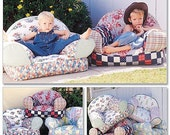 McCall's Home Decorating 9665 Child's Slipcover for Soft Chair Pottery Barn Style  Uncut and Unused