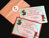 Digital Invitation - Elmo Birthday Party