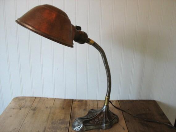 1922 Schwartz & Bro. Lamp