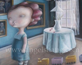 """Limited edition Giclee print  """"Ester"""" A3 plus"""